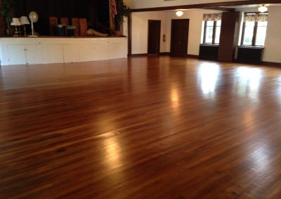 Restoration/Sand/Refinish at Church of Our Savior in Jenkintown, Pa